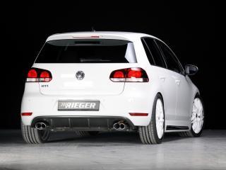 обои Rieger Volkswagen Golf GTI 5-door (Typ 1K) зад фото