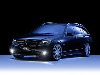 обои Piecha Design Mercedes-Benz C30 Estate спереди фото