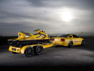 обои Parotech Cesam Mustang прицеп фото