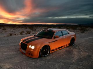 обои Parotech Norev Chrysler 300C сбоку фото