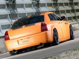 обои Parotech Norev Chrysler 300C сзади фото