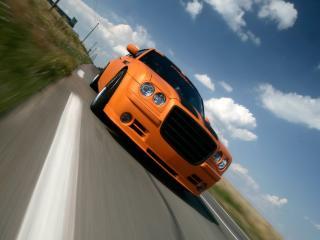 обои Parotech Norev Chrysler 300C скорость фото