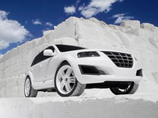 обои Parotech Sony Volkswagen Touareg P24 белый фото