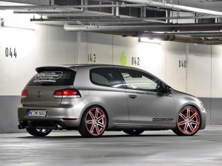 обои CFC Volkswagen Golf GTI серебристый фото