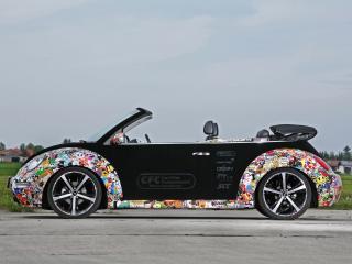 обои CFC Volkswagen New Beetle Cabrio бок фото