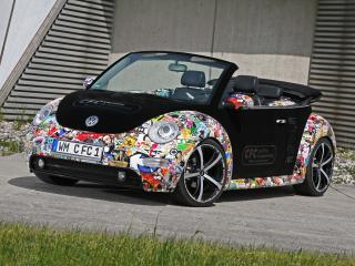 обои CFC Volkswagen New Beetle Cabrio боком фото
