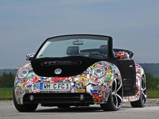 обои CFC Volkswagen New Beetle Cabrio передок фото