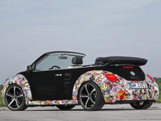 обои CFC Volkswagen New Beetle Cabrio сзади фото