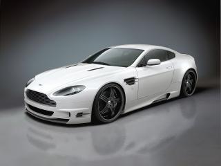 обои Premier4509 Aston Martin V8 Vantage спереди фото