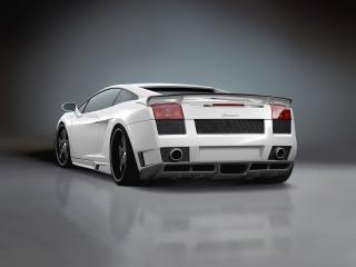обои Premier4509 Lamborghini Gallardo зад фото
