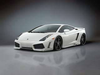 обои Premier4509 Lamborghini Gallardo спереди фото
