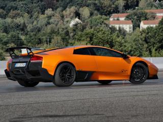обои Premier4509 Lamborghini Murcielago LP670-4 SV бок фото
