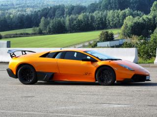 обои Premier4509 Lamborghini Murcielago LP670-4 SV оранжевый фото
