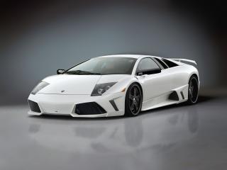 обои Premier4509 Lamborghini Murcielago спереди фото