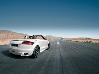 обои Nothelle Audi TT Roadster (8J) сзади фото