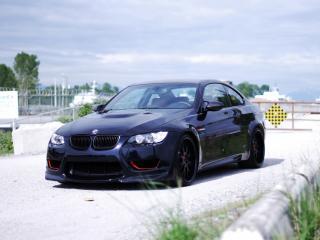 обои MW Design BMW M3 Coupe передок фото