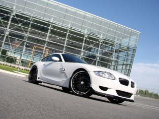 обои MW Design BMW Z4 M Coupe на стоянке фото