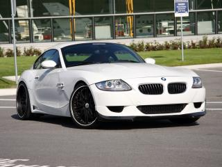 обои MW Design BMW Z4 M Coupe спереди фото