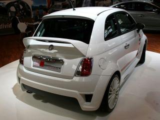 обои MS Design Fiat 500 Cup сзади фото