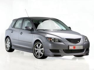 обои MS Design Mazda 3 Hatchback (I) передок фото
