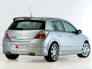 обои MS Design Opel Astra 5-door (H)  зад фото
