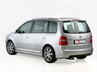 обои MS Design Volkswagen Touran зад фото