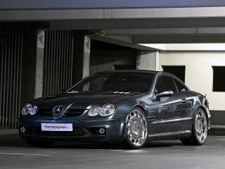 обои MR Car Design Mercedes-Benz SL65 AMG (R230) передок фото