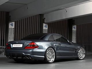 обои MR Car Design Mercedes-Benz SL65 AMG (R230) сзади фото