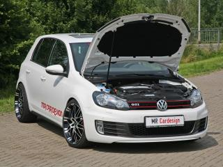 обои MR Car Design Volkswagen Golf GTI 5-door (Typ 1K) открыт капот фото