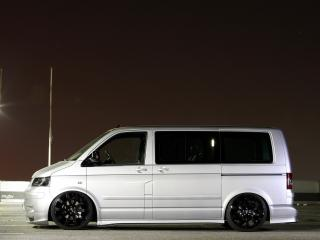 обои MR Car Design Volkswagen T5 бок фото