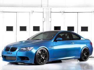 обои IND BMW M3 Coupe (E92) 2011 синий фото