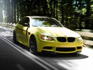 обои IND BMW M3 Coupe (E92) дорога фото