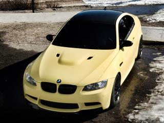 обои IND BMW M3 Coupe (E92) передок фото