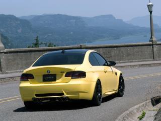 обои IND BMW M3 Coupe (E92) поворот фото