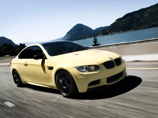 обои IND BMW M3 Coupe (E92) скорость фото