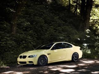 обои IND BMW M3 Coupe (E92) трава фото