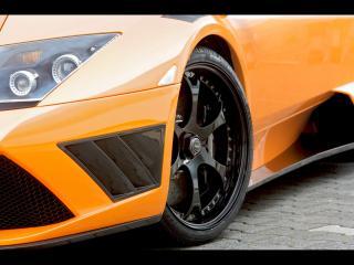обои IMSA Lamborghini Murcielago Spyder фара фото