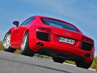 обои MFK Autosport Audi R8 зад фото