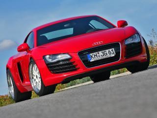 обои MFK Autosport Audi R8 красный фото