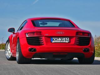 обои MFK Autosport Audi R8 сзади фото