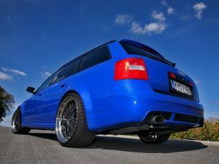 обои MFK Autosport Audi RS6 Avant (4B,C5) вверх фото