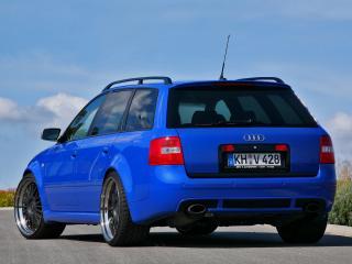 обои MFK Autosport Audi RS6 Avant (4B,C5) синий фото