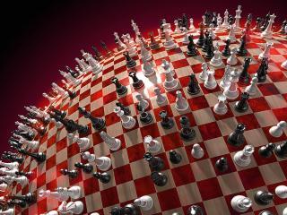 обои Планета шахмат фото