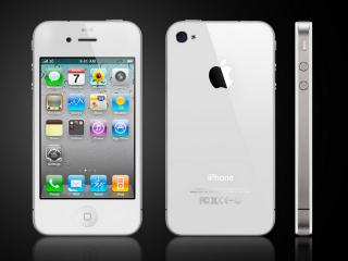 обои Apple iphone 4 белый фото