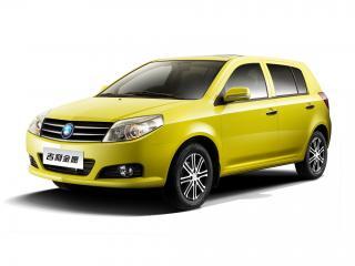 обои Geely MK2 Hatchback желтый фото