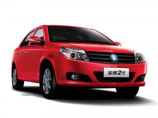 обои Geely MK2 Sedan красный фото