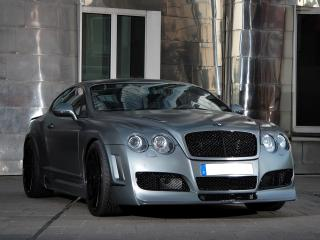 обои Anderson Germany Bentley GT Supersports Race Edition передок фото
