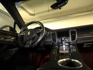 обои Anderson Germany Porsche Panamera Black Edition (970) руль фото
