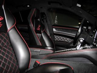обои Anderson Germany Porsche Panamera Black Edition (970) сиденье фото