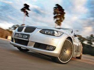 обои ATT BMW 335i Cabrio (E93) передок фото